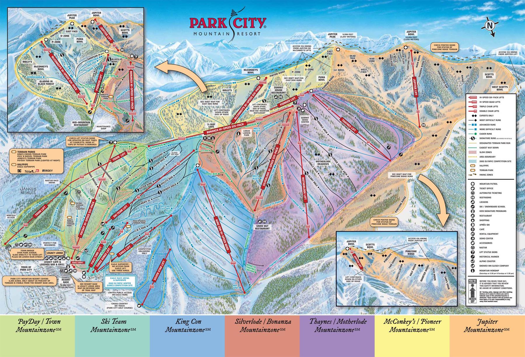 C4 Mapa Na Neve E Modo Noturno: Ski, Snowboard, Viagens, Pacotes Para